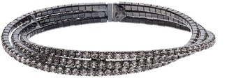 Crystal Avenue Crisscross Cuff Bracelet