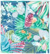Salvatore Ferragamo floral silk scarf - women - Silk - One Size