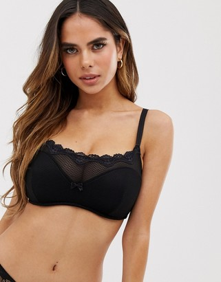 Pour Moi? Pour Moi Ditto underwired bralette in black
