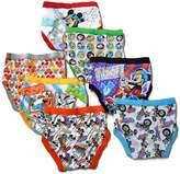 Disney Little Boys' Seven Pack Mickey Mouse Briefs , Size 2T 3T