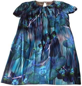 Matthew Williamson Blue Silk Dress for Women