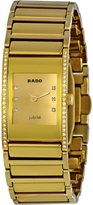 Rado Women's R20783732 Integral Champagne Dial Watch