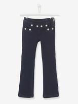 Vertbaudet Girls Bootcut Jeans