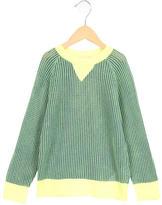 Stella McCartney Girls' Open Knit Long Sleeve Sweater