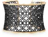 Kendra Scott Candice Gold Cuff Bracelet in Silver Filigree