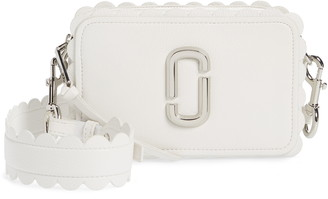 Marc Jacobs The Softshot 21 Scalloped Leather Crossbody Bag