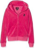 Juicy Couture Girl's Solid Robertson Zip Hoodie