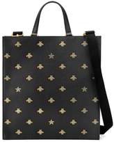 Gucci Bee Star leather tote