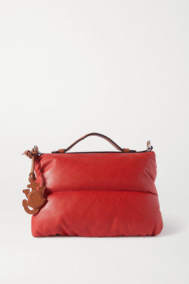 MONCLER GENIUS 1 Jw Anderson Quilted Padded Shell And Leather Tote