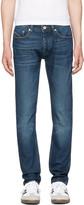 Diesel Black Gold Blue Skinny Jeans