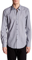 HUGO HUGO BOSS Long Sleeve Sharp Fit Print Shirt