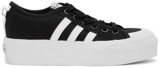 adidas Black Nizza Platform Sneakers