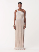 Diane von Furstenberg Lucielle Chiffon One-Shoulder Gown