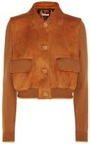 Miu Miu Wool And Leather Jacket