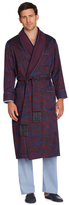 Brooks Brothers Silk Paisley Dressing Gown