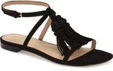 Marc Fisher 'Crystal' Tassel Flat Sandal (Women)