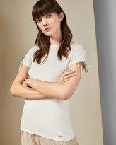 Ted Baker Ruched Sleeve T-shirt