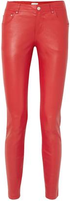 Stand Studio Stella Leather Slim-leg Pants