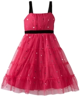 Emily West Girls 7-16 All Over Mesh Sequins Dress