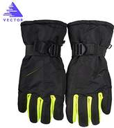 Vector Unisex Adult Winter Snow Sports Windproof Waterproof Thermal Motorcycle Bike Cycling Snow Snowboard Skate Ski Gloves