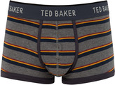 Ted Baker Multiple Stripe Boxer Grey Marl