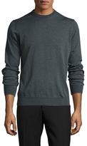 Toscano Wool Crewneck Sweater