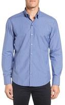 Zachary Prell Men's 'Decker' Trim Fit Plaid Sport Shirt