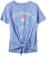 Old Navy Tie-Front Tee for Girls