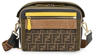Fendi medium FF motif messenger bag