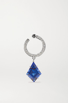 ara Vartanian - 18-karat White Gold, Tanzanite And Diamond Earring