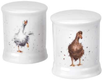 Royal Worcester Wrendale Salt & Pepper Ducks