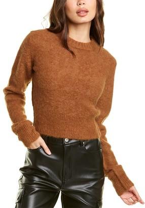 Helmut Lang Shrunken Alpaca-Blend Sweater