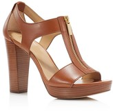 MICHAEL Michael Kors Berkley Zipper Platform High Heel Sandals