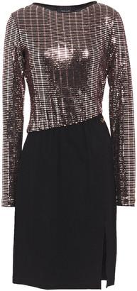 Just Cavalli Embellished Stretch-crepe Dress