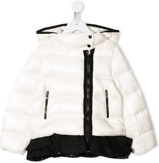 Moncler Enfant Contrast Trim Padded Jacket