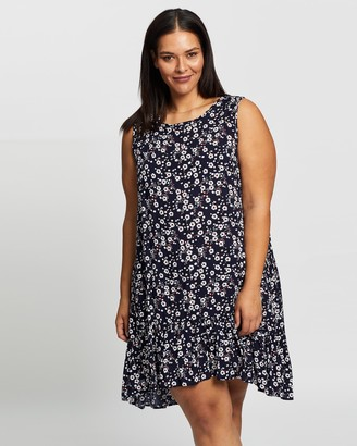 Atmos & Here Atmos&Here Curvy - Women's Multi Mini Dresses - Georgi Mini Dress - Size 18 at The Iconic