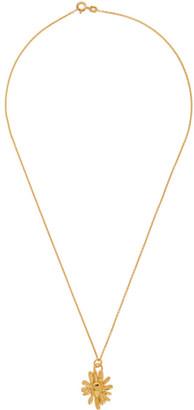 MONDO MONDO Gold Chamomile Necklace