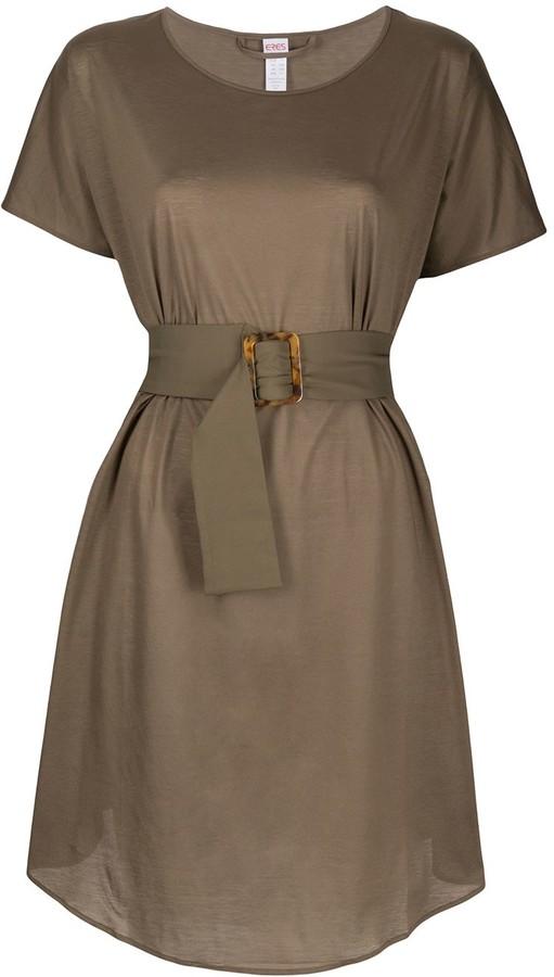 Eres Belted Waist Dress