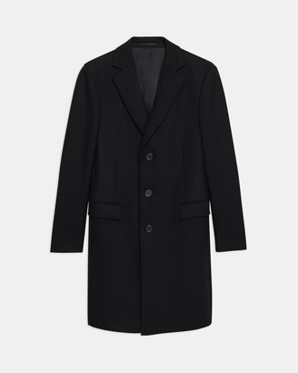 Theory Chambers Coat in Traceable Wool Melton