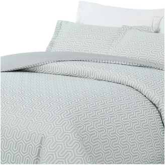 Natural Comfort Luxurious Cotton Duvet Cover Mini Set, Turn/Blue, Kin