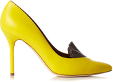 ADAM by Adam Lippes X Malone Souliers Brenda point-toe leather pumps
