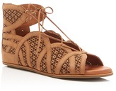 Gentle Souls Becka Lace Up Flat Sandals