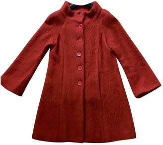 Jucca Orange Wool Coats