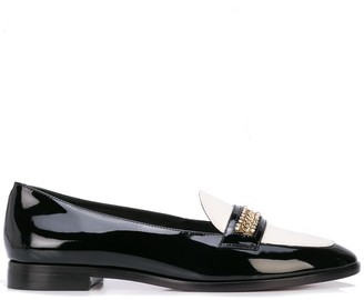 Sophia Webster Chain Embellished Loafers