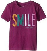 Life is Good Smile Crusher Tee Girl's T Shirt