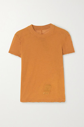 Rick Owens Small Level Cotton-jersey T-shirt - Orange