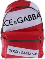 Dolce & Gabbana Printed Logo Backpack