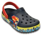 Crocs Crocband Superman Kids' Glow-In-The-Dark Clogs
