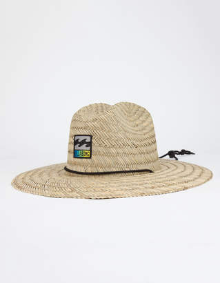 Billabong Patches Mens Straw Lifeguard Hat