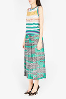 Missoni Zigzag-knit Maxi Skirt